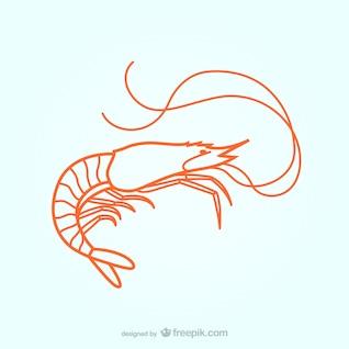 Ilustración langosta
