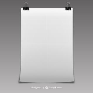 Hoja en blanco de papel