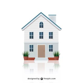 Casa ilustración vectorial