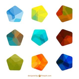 Plantillas de logotipo de colores