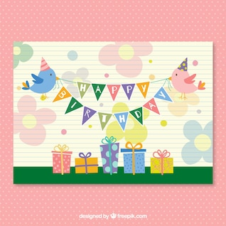 CMYK Fiesta de cumpleaños del vector