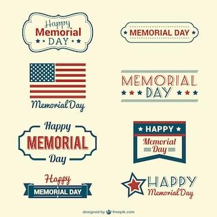 Insignias del Memorial Day