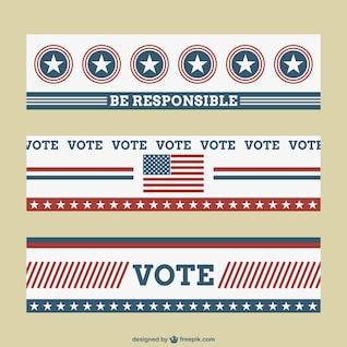 Elecciones USA banners