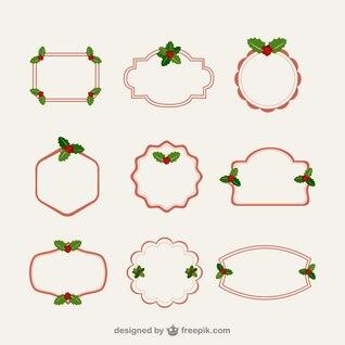 Marcos de Navidad minimalista