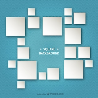 Fondo con los cuadrados blancos vectorial