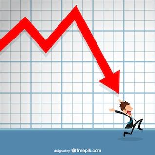 Perspectivas desfavorables en los negocios
