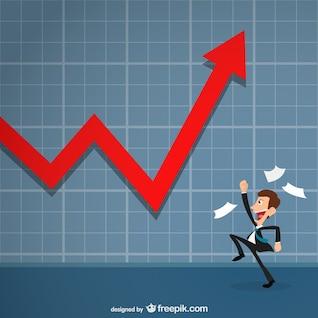 Éxito en el vector de negocio