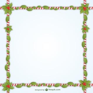 Navidad decorativo del vector del marco