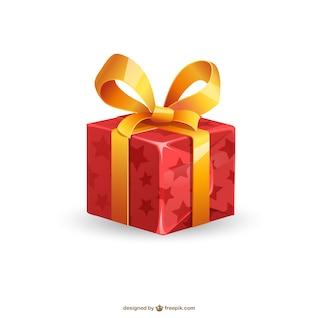 Ilustración de regalo de Navidad