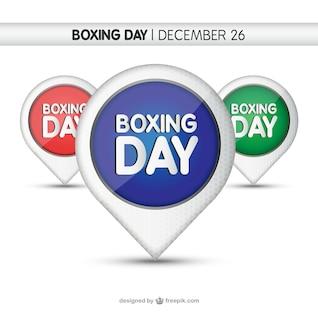 Etiquetas días boxeo