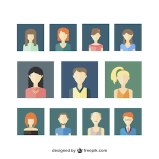Iconos Avatar de Usuario