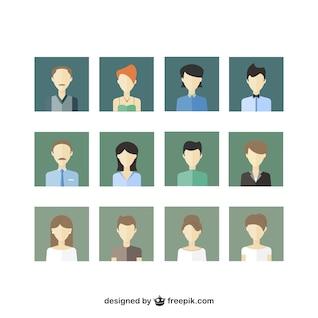 Iconos de la gente paquete