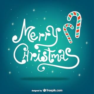 Saludos de Navidad con sombrero de Santa Claus