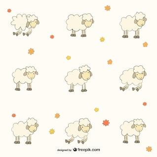 Patrón de ovejas