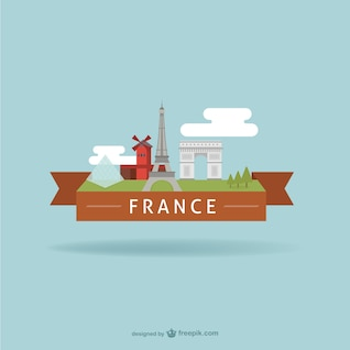 Francia hitos turísticos