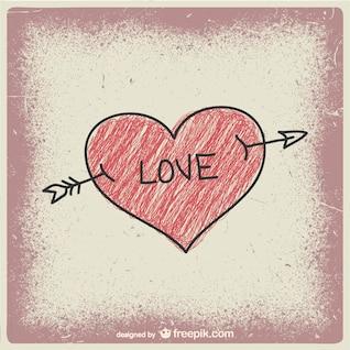 Amor vector garabato