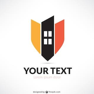 Logo abstracto inmobiliario