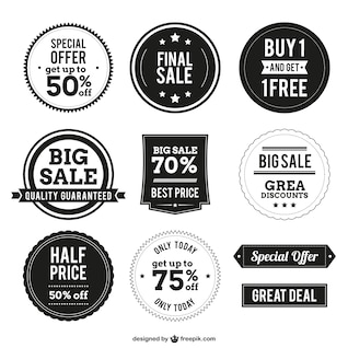 Etiquetas comerciales