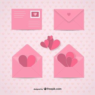 Sobres Día de San Valentín