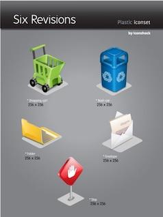 plástico iconset
