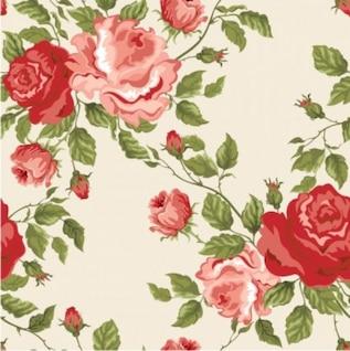 Hermoso fondo floral del vector
