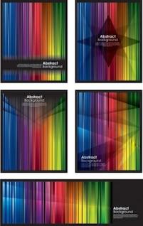Colorido fondo sinfonía