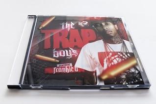 Plantilla de la cubierta de hip hop
