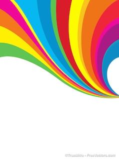 Abstracto arco iris de fondo ilustrador vectorial