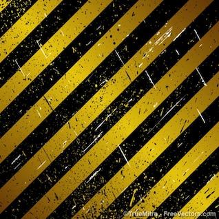 Bajo carriles de construcción de rayas
