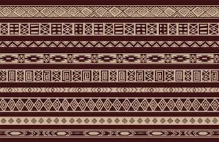 Detallada de antecedentes patrón étnico tejido