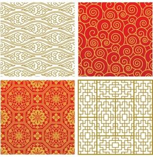 cuatro patrones asiáticos