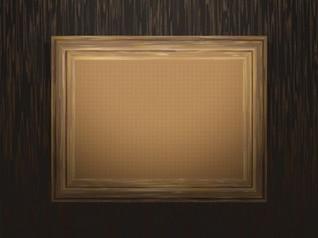 Marco de madera vintage