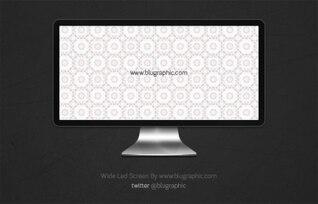 Amplia pantalla Apple LED