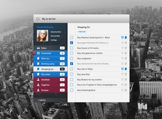 tarea ui lista de tareas de interfaz de usuario