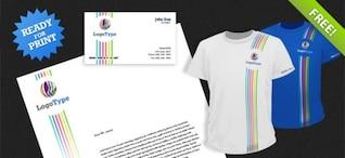 Identidad Corporativa PSD Pack 2