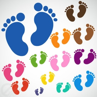 Los pies del bebé