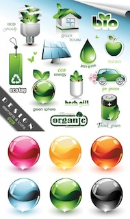 protección del medio ambiente relacionada con patrón de material de vectores