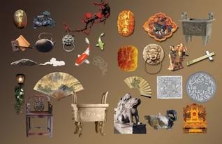 recolección de material en capas psd clásica