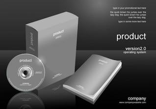 paquete de software psd material, incluyendo el archivo de acción