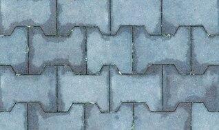 Textura de ladrillo enlosables con 5 colores