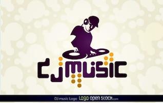 dj logo música