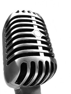 micrófono ofreció material de imagen