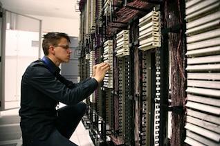 del centro de datos material de imagen