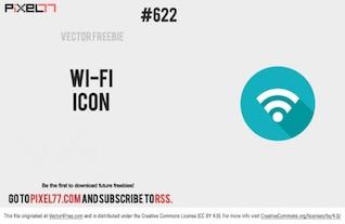Wifi icono de señal vectorial