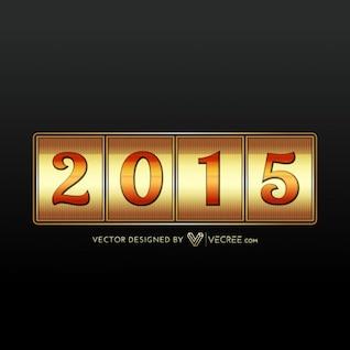 Oro de año nuevo 2015 juego