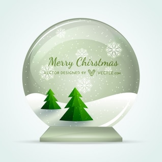Esfera de Navidad Paisaje