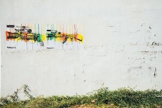 Pistolas de pintura pintados