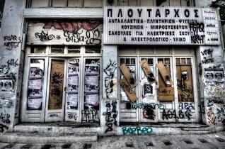 Tienda abandonada