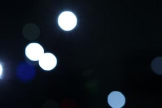 Luces blancas bokeh