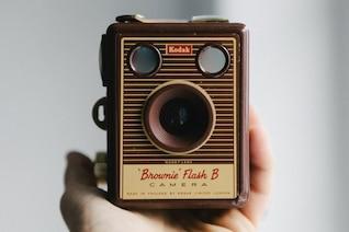 Pequeña cámara retro